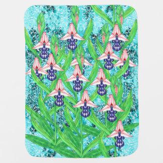Ottoman Orchid-Sahlep Blanket