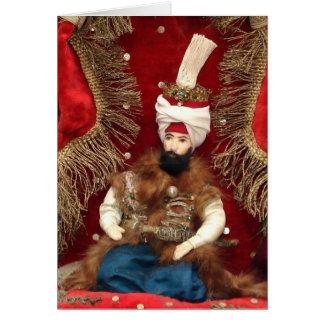 Ottoman Sultan Greeting Card