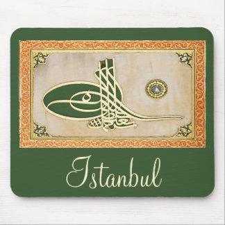 Ottoman sultan tughra Mousepad