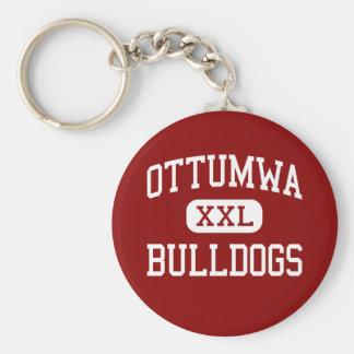 Ottumwa - Bulldogs - High School - Ottumwa Iowa Key Ring