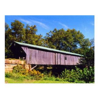 Otway Covered Bridge Postcard
