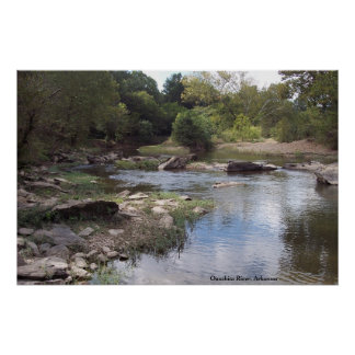 Ouachita River at Oden, Arkansas Poster