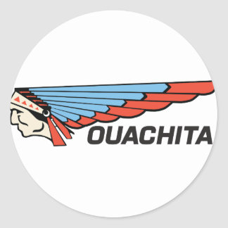 Ouachita River Round Sticker