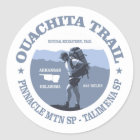 Ouachita Trail Classic Round Sticker