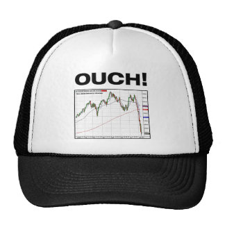 OUCH! Dow Jones Industrial Average Chart 8/11 Mesh Hats