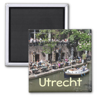 Oude Gracht Square Magnet