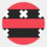 Ouder Amstel, Netherlands Round Stickers