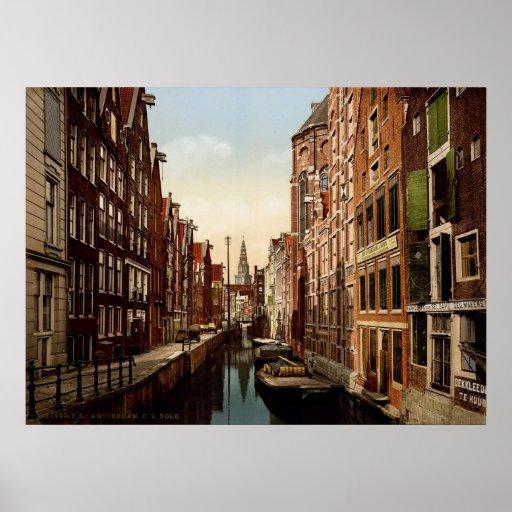 Oudezijds Kolk Amsterdam Print