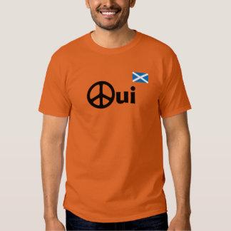 Oui No Trident Scottish Independence T-Shirt
