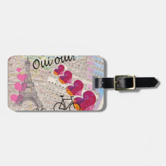 Oui Oui Luggage Tag