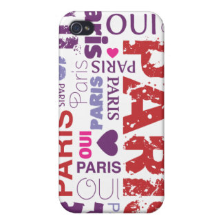 Oui paris je t'aime iphone case cover for iPhone 4