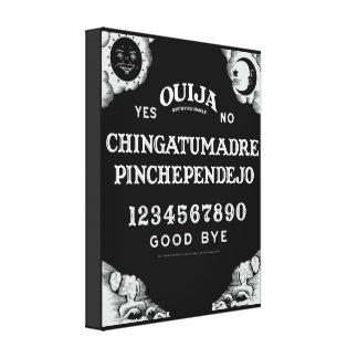 Ouija on Canvas Canvas Print