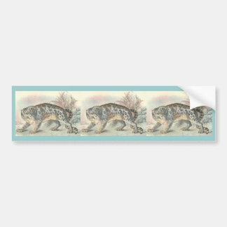 Ounce (Snow Leopard) Bumper Sticker