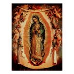 OuOur Lady of Guadalupe and the Angels Posters