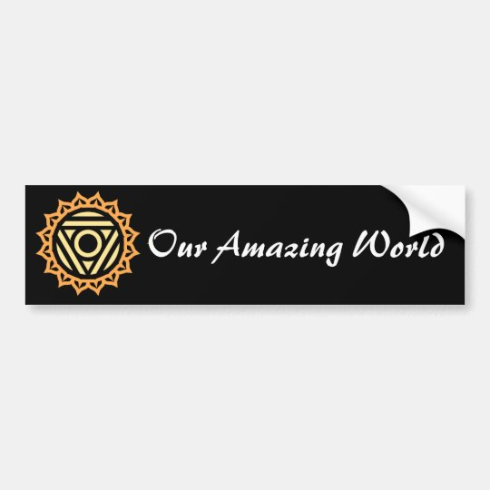 Our Amazing World sticker