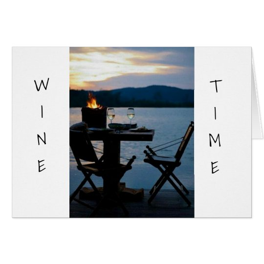 *OUR ANNIVERSARY* IS TIME FOR US AND SOME WINE CARD