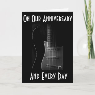 musical anniversary cards invitations zazzle co uk