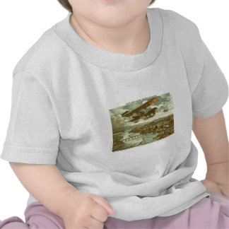 Our Army Attacks from Sky Water and Shore T Shirt