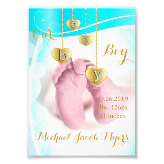 Our Baby Boy - Photo Template