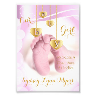 Our Baby Girl - Photo Template