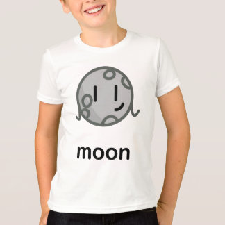 Our Big Fat Solar System - Moon T-Shirt