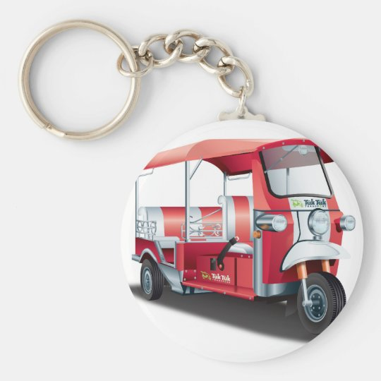 OUR BIG RED TUK TUK KEY RING