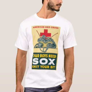 Our boys need sox - knit your bit T-Shirt