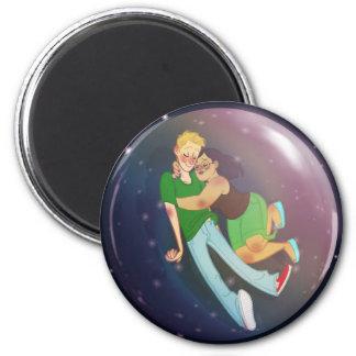 Our Bubble 6 Cm Round Magnet