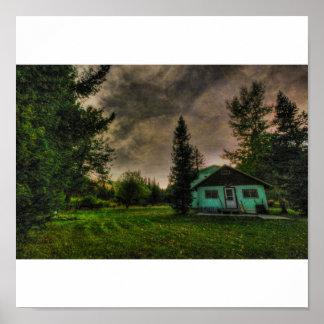 Our Cabin On The Little Blackfoot, Elliston, MT 20 Poster