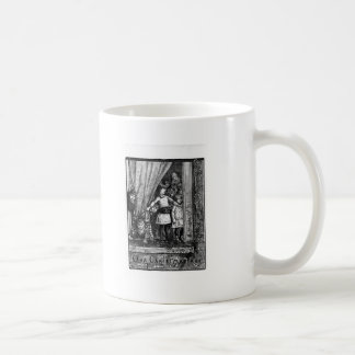 Our Christmas Tree Vintage Victorian Basic White Mug