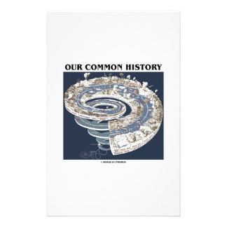 Our Common History (Earth History Timeline Spiral) Personalised Stationery