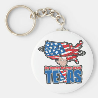 Our Country revolves around Texas Keychains