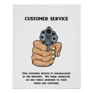 our-customer-service-is-unparalleled poster