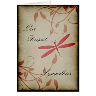 Our Deepest Sympathies Greeting Card