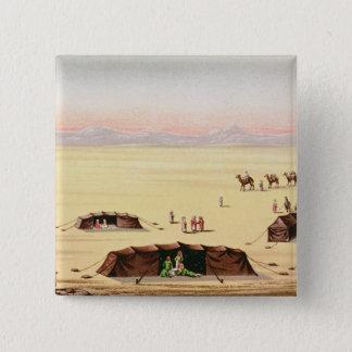 Our Desert Camp 15 Cm Square Badge