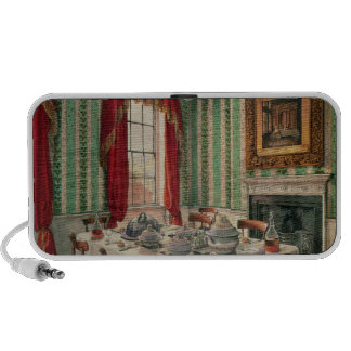 Our Dining Room at York, 1838 Laptop Speaker