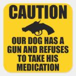 Our Dog Has a Gun