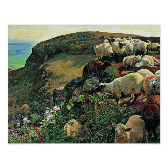 Our English Coast by William Holman Hunt Poster