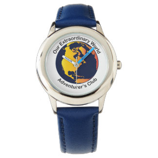 Our Extraordinary World Adventurer's Club Watch