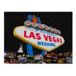 Our Fabulous Las Vegas Wedding Postcard