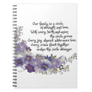 Our Family is a Circle Notebooks