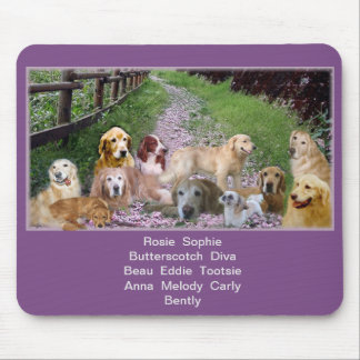 Our Family of Pups Mouse Mat