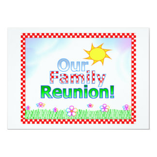 Our Family Reunion Invitation