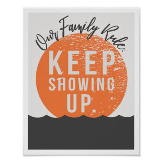 "Our Family Rule 11""x14"" Art Print"