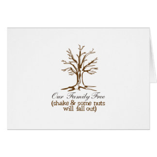 Our Family Tree Greeting Card
