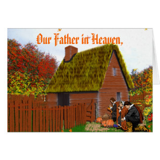 Our Father in Heaven Greeting Card