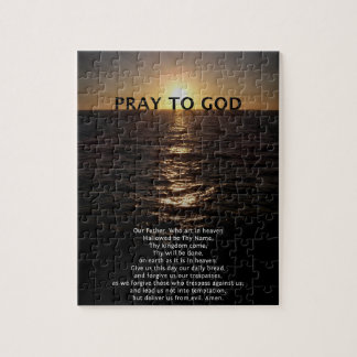 Our Father Prayer Jigsaw Puzzle