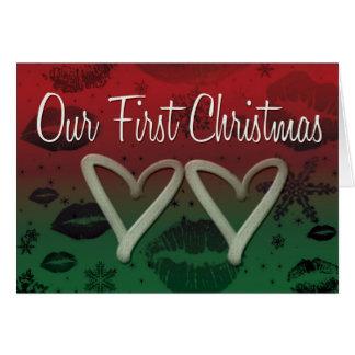 Our First Chrismas Card