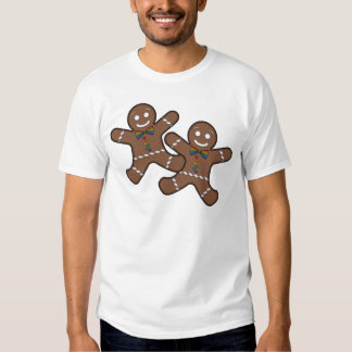 Our First Christmas Gingerbread Couple Gay Pride Shirts