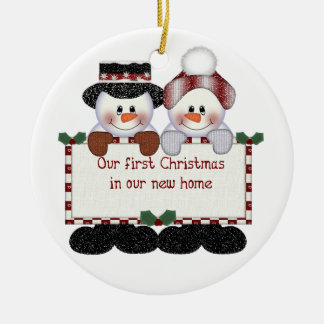 First In Our New Home Christmas Christmas Tree Decorations